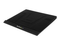 StarTech.com Refroidisseur d'ordinateur portable à grille en aluminium et ventilateur integre, alimente par USB - Noir