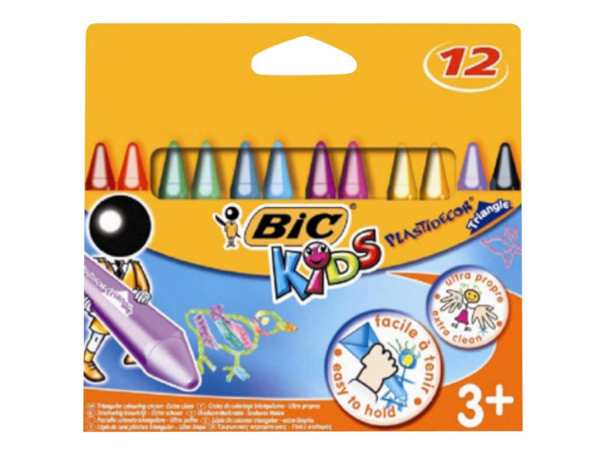 crayons de couleur bic kids