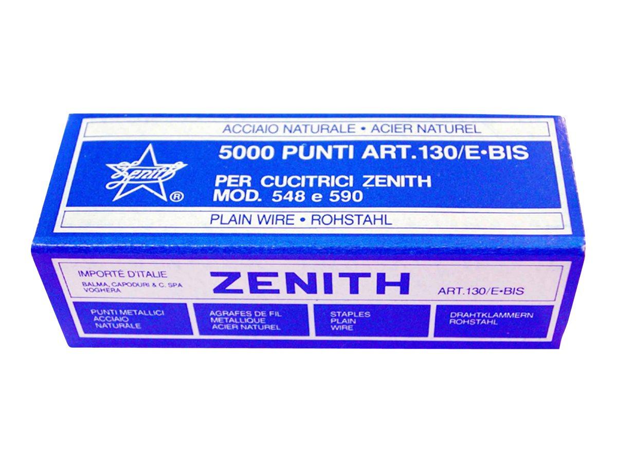 ZENITH - Agrafes - 6/4 - acier - par 1000 ou 5000
