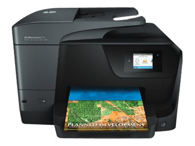 HP Officejet Pro 8710 All-in-One - imprimante multifonctions ( couleur )
