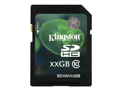 Kingston - tarjeta de memoria flash - 8 GB - SDHC