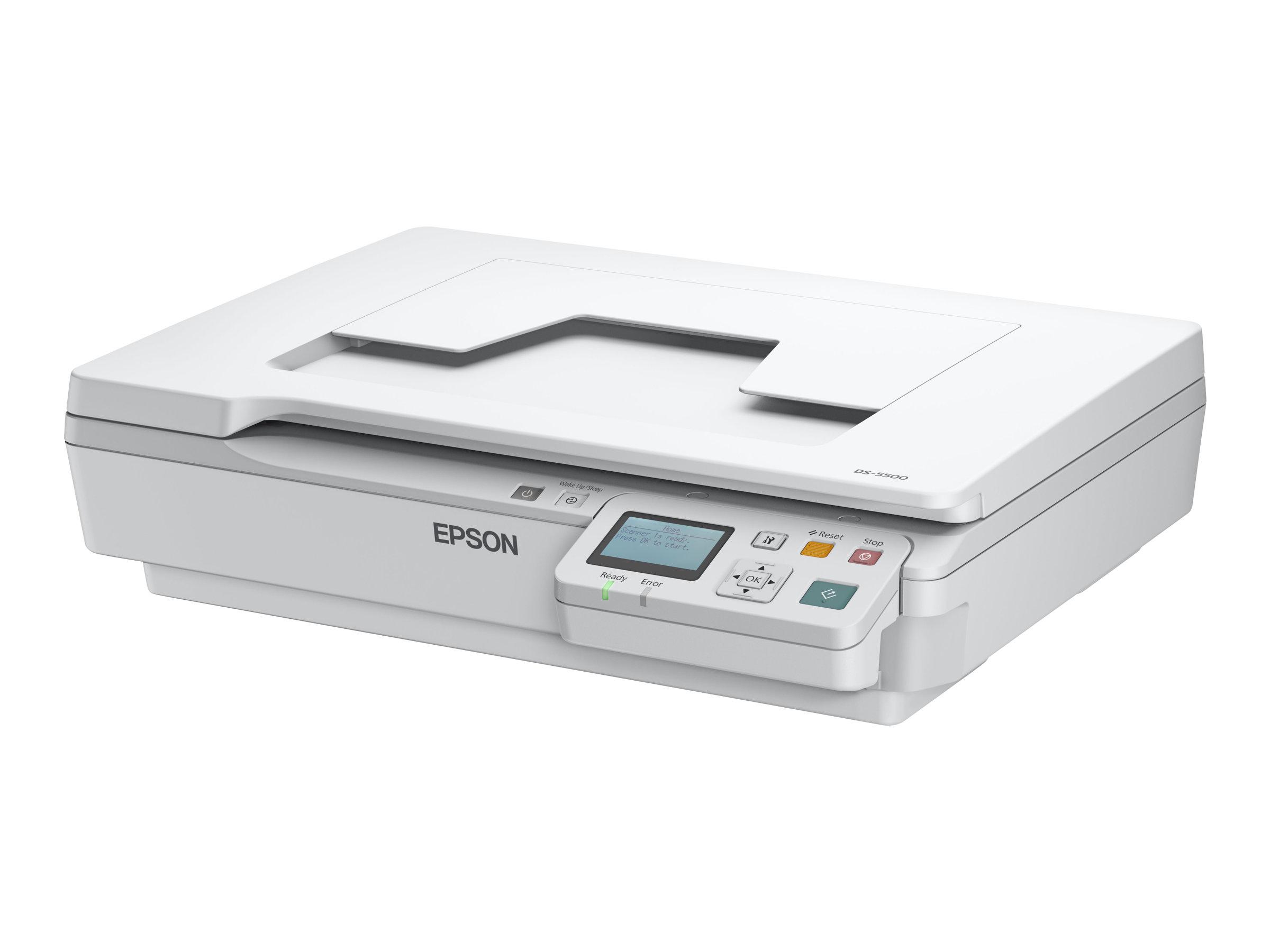 Epson WorkForce DS-5500N - scanner à plat