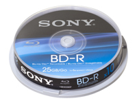 Sony Blu-ray Disc 10BNR25SP