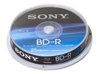 Sony BNR25SP - BD-R x 10 - 25 Go