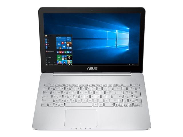 "Image of ASUS VivoBook Pro N552VW-FI043T - 15.6"" - Core i7 6700HQ - 16 GB RAM - 128 GB SSD + 2 TB HDD"