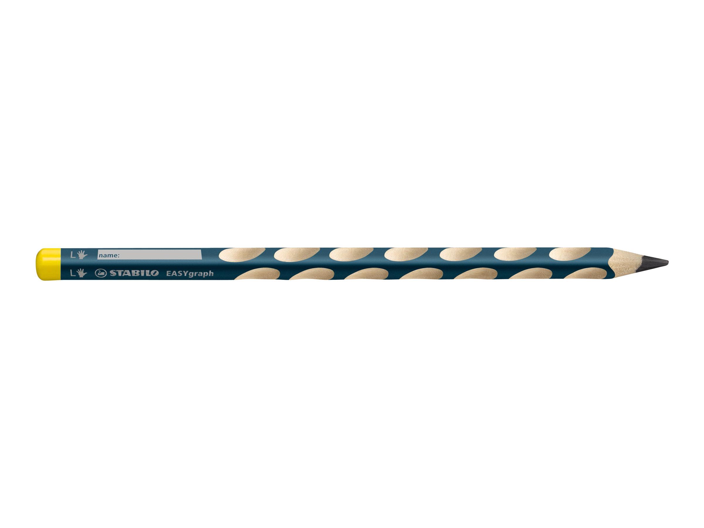 Stabilo Easy Graph 2988 - Crayon - Graphite - HB - Spécial pour gaucher ou droitier