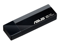 ASUS USB-N13 Netværksadapter USB 2.0 802.11b, 802.11g, 802.11n