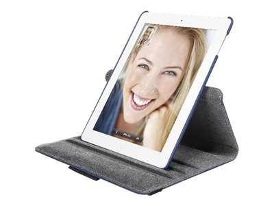 targus versavu 360° rotating stand & case for new ipad &
