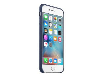 Apple - Zadní kryt pro mobilní telefon - kůže - půlnoční modř - pro iPhone 6, 6s