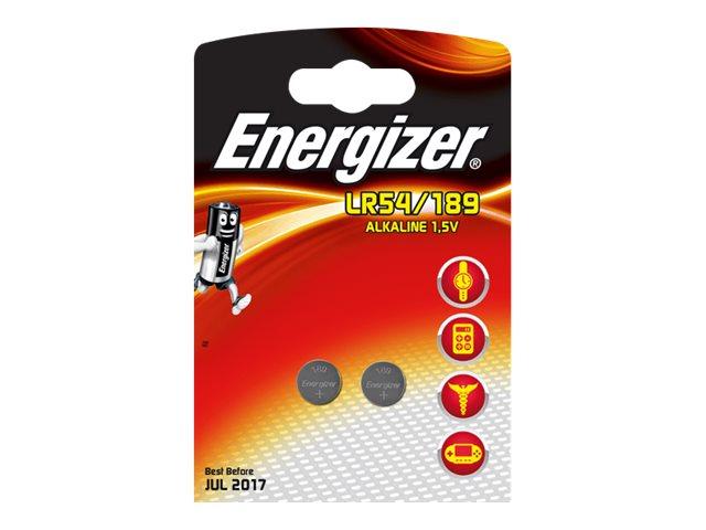 Energizer LR54/189 - batterie - LR54 - Alcaline x 2