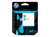 HP 11 - cyan - tête d'impression