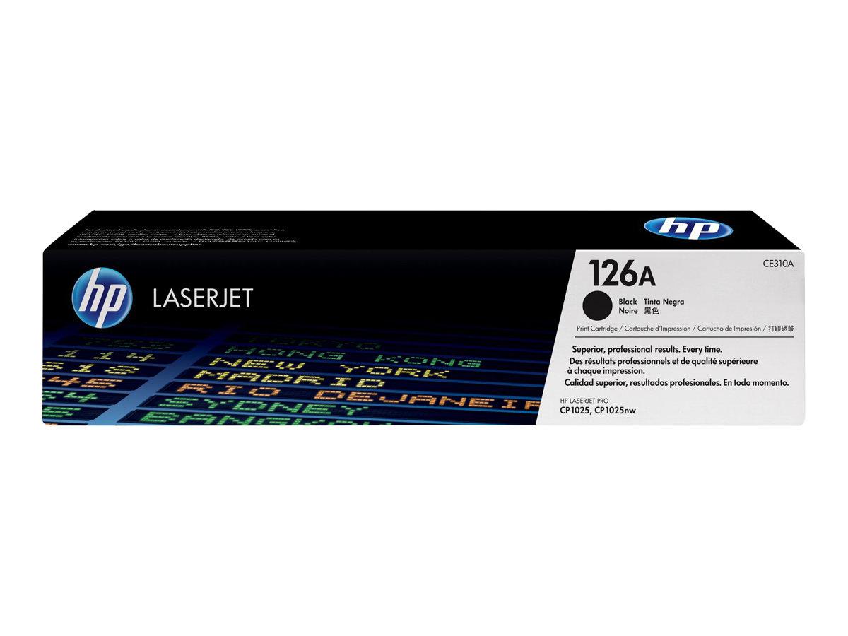 HP 126A NEGRO ORIGINAL LASERJET CARTUCHO DE TONER