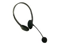 LogiLink Easy Headset på øret kabling sort