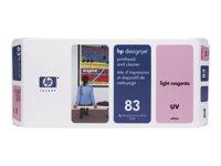 HP Cabezal magenta claro (n�83) + limpiadorC4965A