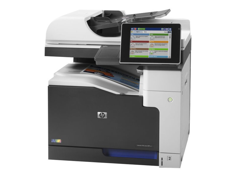 hp laserjet enterprise mfp m775dn imprimante multifonctions couleur imprimantes laser neuves