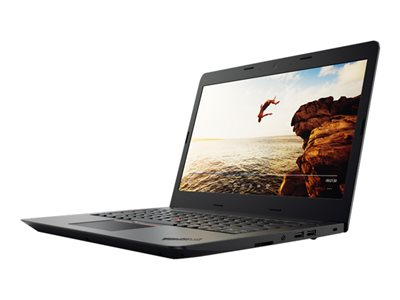 "Lenovo ThinkPad E475 20H4 - A6 9500B / 2.3 GHz - Win 10 Pro 64-bit - 4 GB RAM - 500 GB HDD - 14"" 1366 x 768 (HD) - Radeon R5 - Wi-Fi, Bluetooth - black"