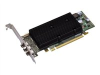 M9138 LP, 1GB, PCIe x16, low profile, 3x miniDP + DP adapter, pa