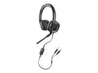 Plantronics .Audio 355 Headset fuld størrelse kabling