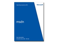 Microsoft MSDN Operating Systems 2012