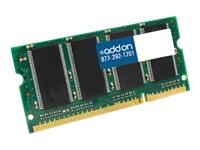 AddOn 1GB Industry Standard DDR2-800MHz SODIMM