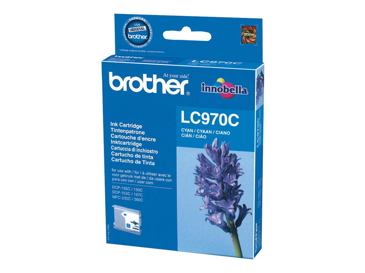 Brother LC970C - cyan - originale - cartouche d'encre