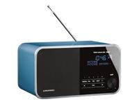 Grundig DTR 3000 DAB+ DAB-radio pearled blue
