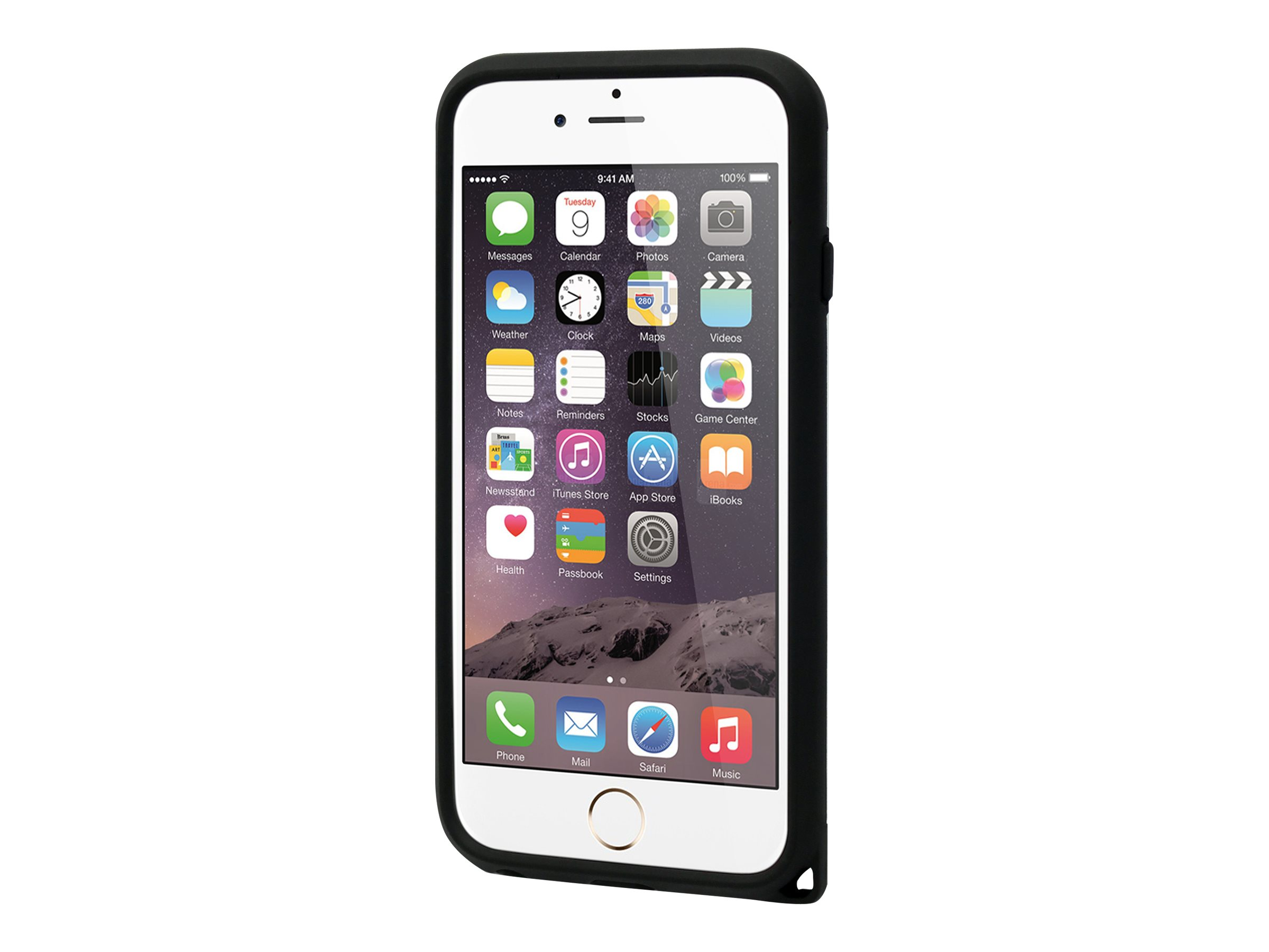 Muvit - Coque de protection pour iPhone 6, 6s - argenté
