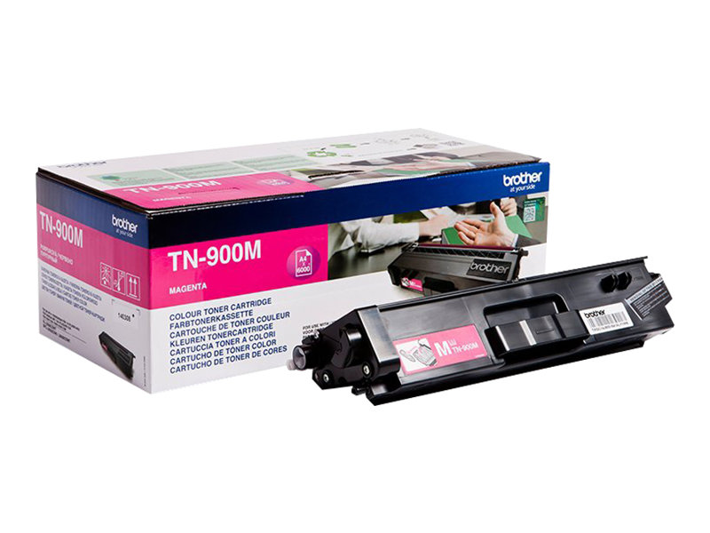 Brother TN900M - magenta - originale - cartouche de toner