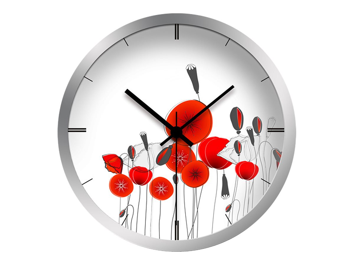 OfficePro Coquelicots - horloge
