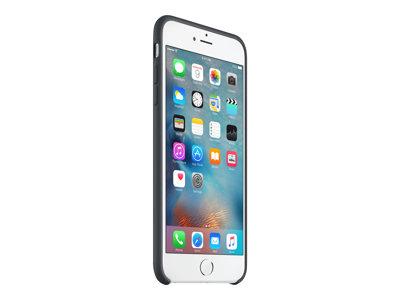 Apple - Zadní kryt pro mobilní telefon - silikon - uhlově šedá - pro iPhone 6 Plus, 6s Plus