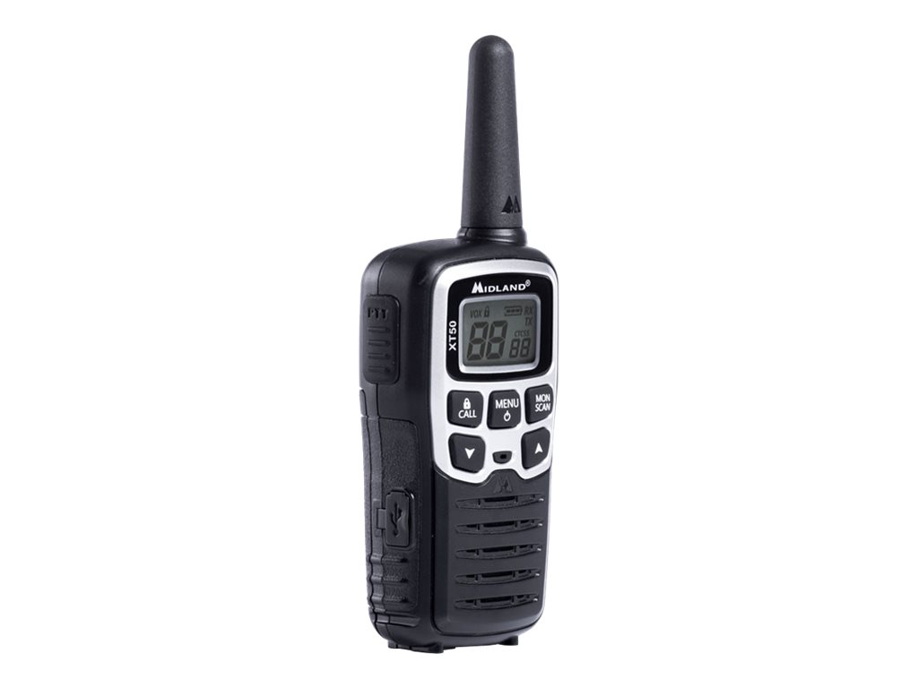 MIDLAND XT50 PORTATIL RADIO EMISOR Y RECEPTOR PMR