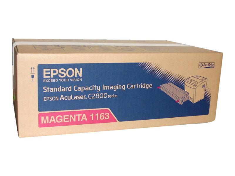 Epson 1163 - magenta - originale - cartouche de toner