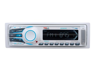 BOSS Marine MR1308UAB - Marine - digital receiver - in-dash - Full-DIN - 50 Watts x 4