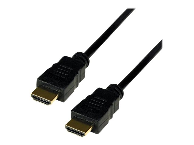 MCL Samar High Speed HDMI Cable with 3D and Ethernet - HDMI avec câble Ethernet - 1 m