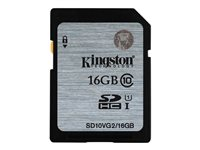 Kingston - Flash memory card - 16 GB