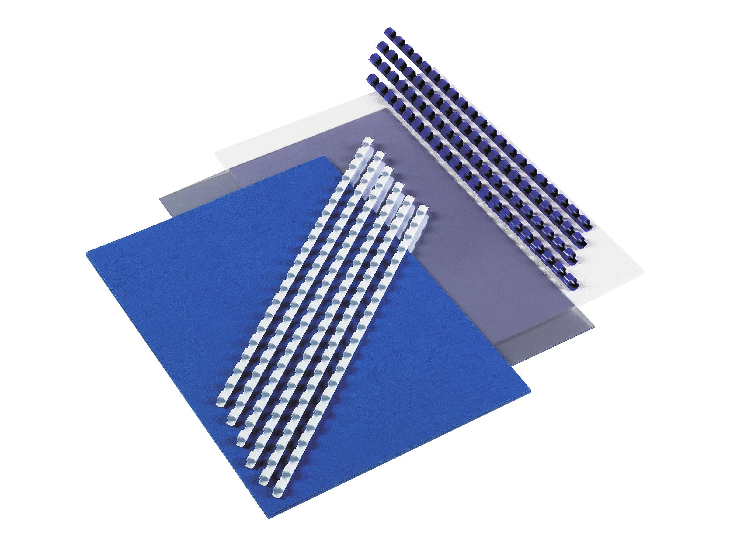 GBC CombBind Selection Pack - 25 unités - peigne de reliure en plastique