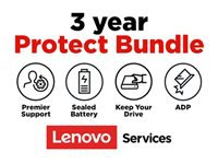 Lenovo Onsite + Accidental Damage Protection + Keep Your Drive + Sealed Battery + Premier Support - Extended service agreement - parts and labor - 3 years - on-site - response time: NBD - for (1-year pick-up & return): ThinkBook 13s G2 ITL; 14 G2 ARE; 14 G2 ITL; 15; 15 G2 ARE; 15 G2 ITL; ThinkPad C13 Yoga G1; E14 Gen 2; E15 Gen 2; L14 Gen 1; L15 Gen 1; P14s Gen 1; P15s Gen 1; T14 Gen 1; T14s Gen 1; T15 Gen 1; T15p Gen 1; X1 Carbon Gen 8; X1 Extreme Gen 3; X1 Yoga Gen 5; X13 Gen 1