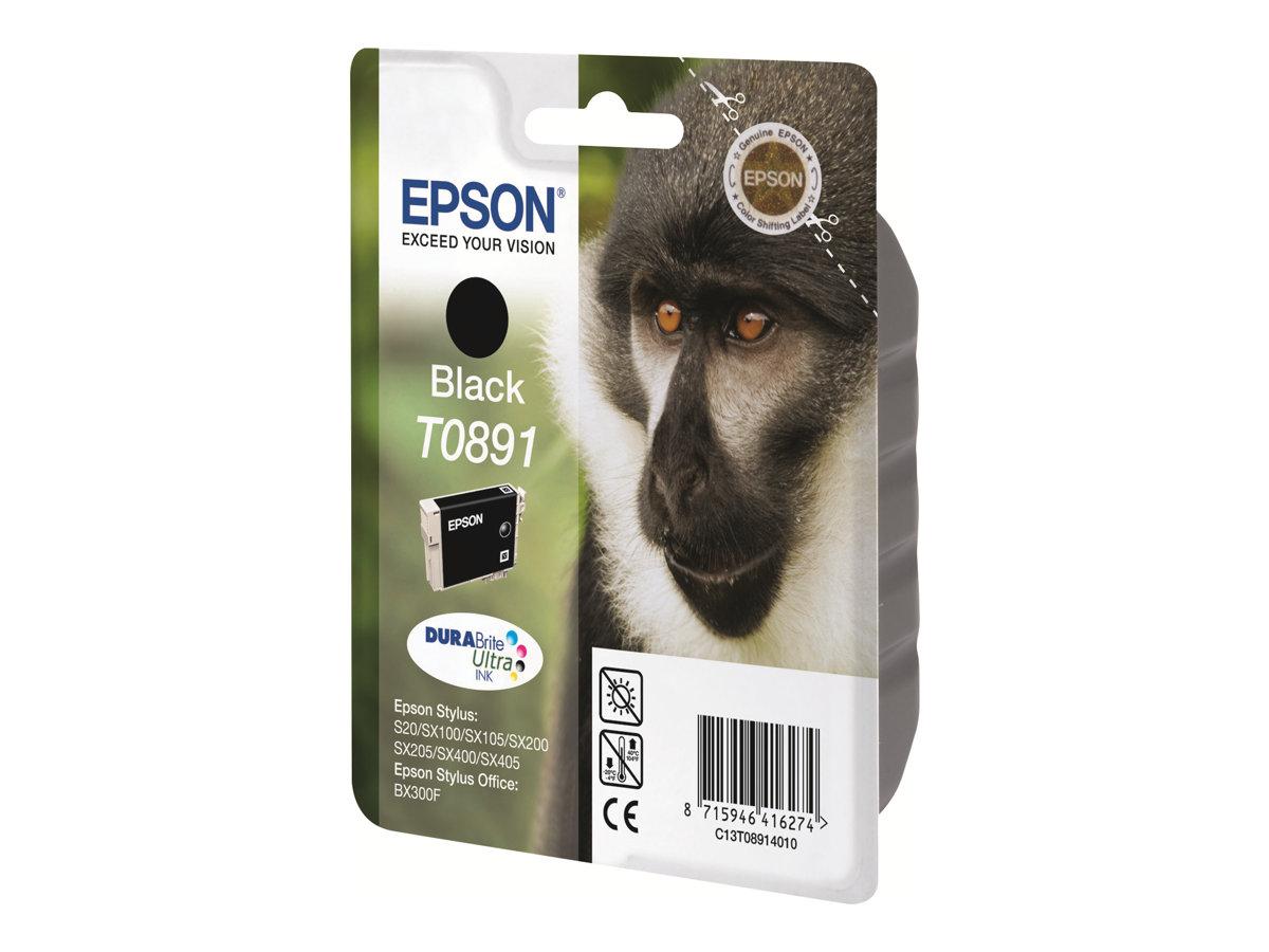 Epson T0891 - noir - originale - cartouche d'encre