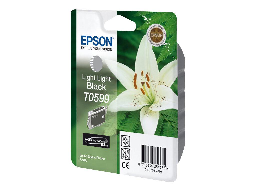 Epson T0599 - noir clair - originale - cartouche d'encre