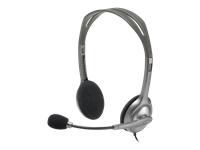 Logitech Stereo Headset H110 Headset på øret