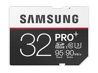 SAMSUNG, SD Card PRO+32GB