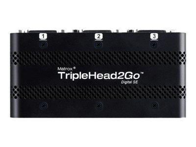 Matrox Graphics eXpansion Module TripleHead2Go - Digital SE - nástroj pro převod videa - DVI