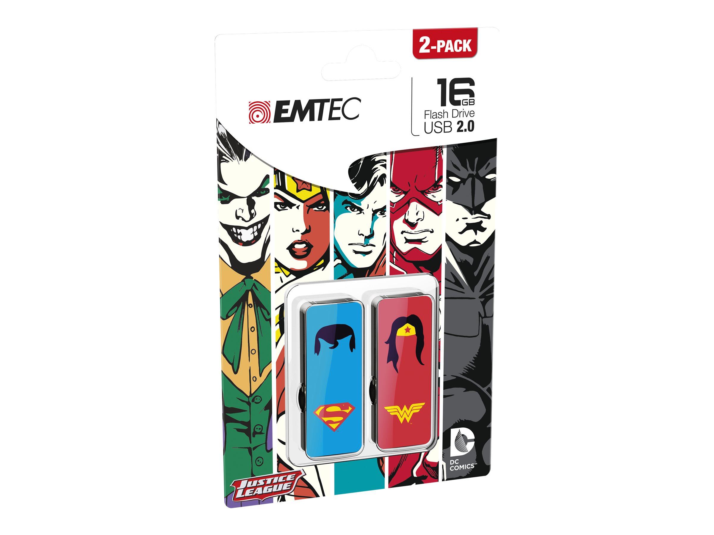 EMTEC Super Heroes M700 - clé USB - 16 Go