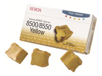 XEROX Tinta sólida amarilla (Pack 3) (3.000 páginas)108R00671
