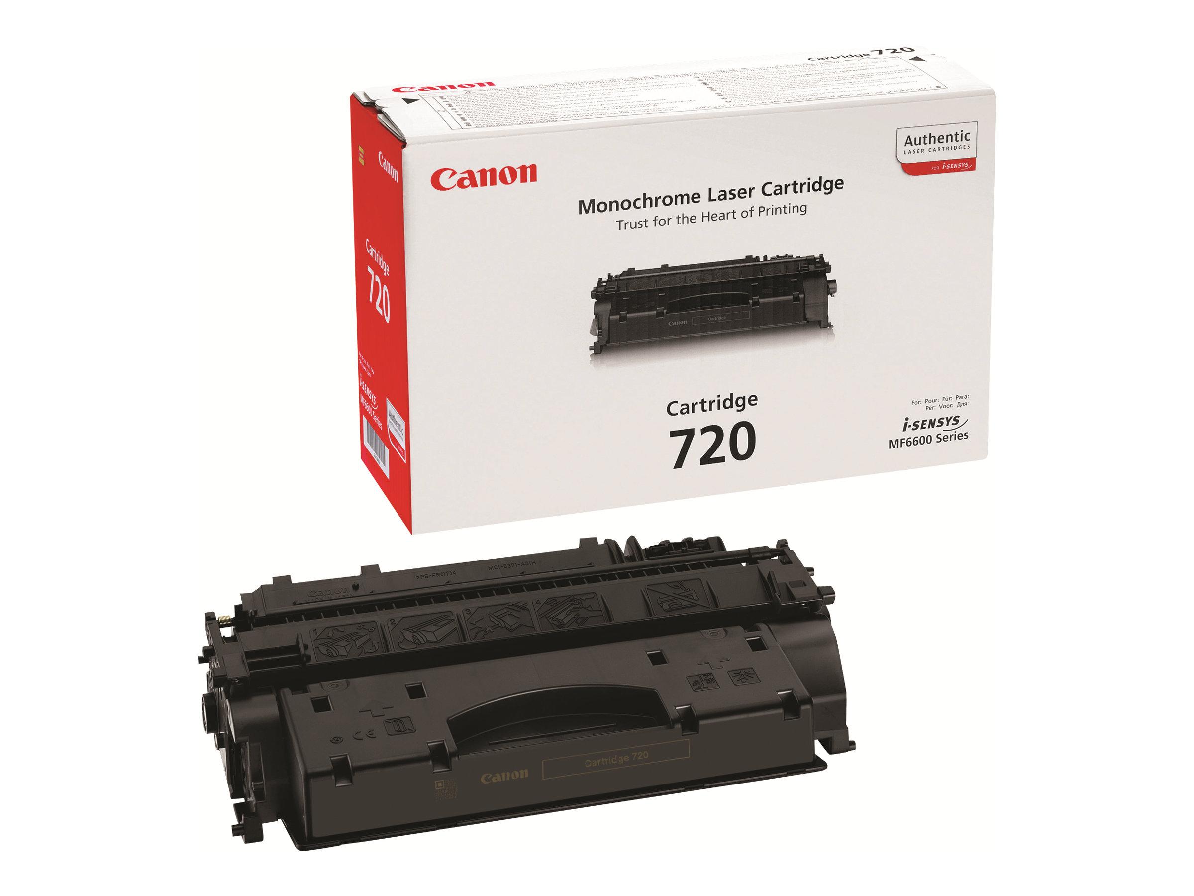 Canon CRG-720 - noir - originale - cartouche de toner