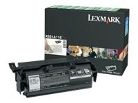 Lexmark Cartouches toner laser X651A11E