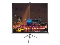 Image of Elite Tripod Series T100UWV1 - projection screen with tripod - 100 in ( 254 cm )
