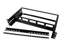 StarTech.com Adjustable RackMount DIN Rail Kit with Top Hat/Mini/G Rails