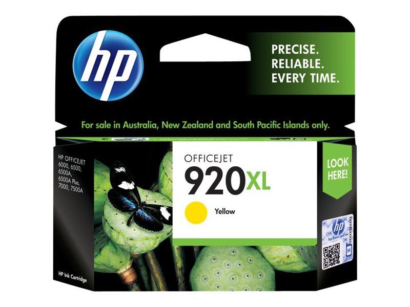 HP 920XL - à rendement élevé - jaune - original - cartouche d'encre