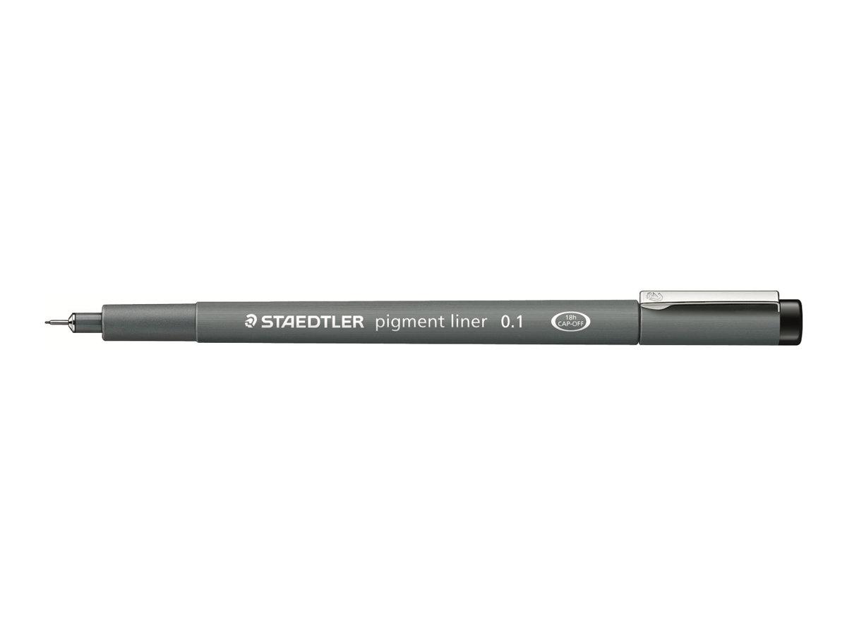 STAEDTLER pigment liner - Feutre fin - noir - différentes tailles de pointes